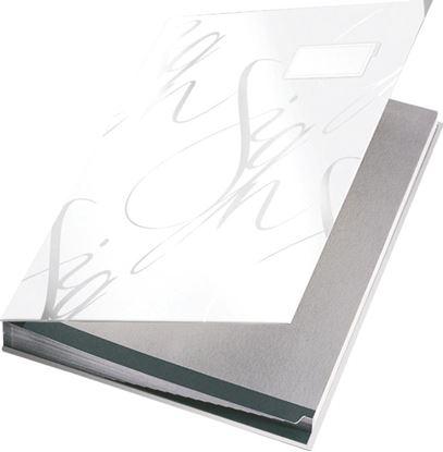 Obrázek Designová podpisová kniha Leitz - bílá