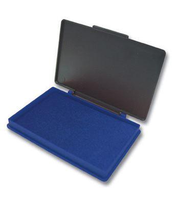 Obrázek Razítkové podušky Kores - napuštěná / modrá / 110 x 70 mm