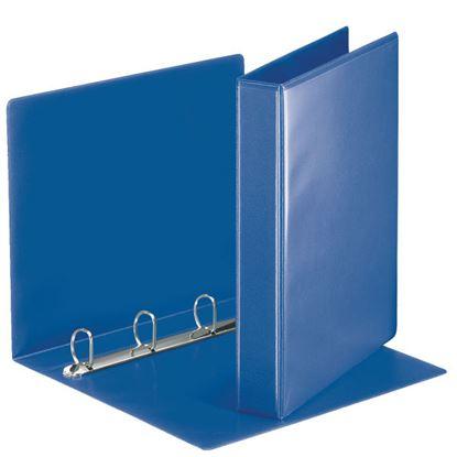 Obrázek Esselte pořadač A4 kroužkový prezentační 5,1 cm 4-kroužek modrá