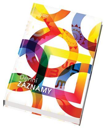 Obrázek Denní záznamy lamino - A6 / mix motivů