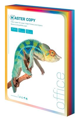 Obrázek Barevné papíry A4 80 g - sytá duha / 100 listů / barevný mix