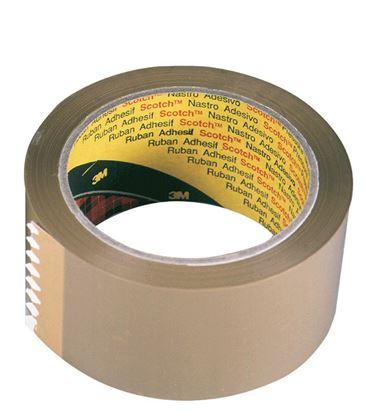Obrázek Balicí pásky Scotch  -  75 mm x 66 m / hnědá