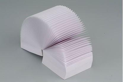 Obrázek Záznamní kostky bílé - 9 cm x 9 cm x 4,5 cm / lepená vazba
