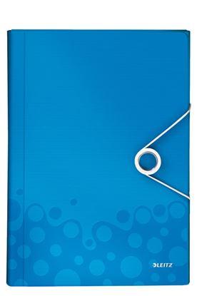Obrázek Spisovka s přihrádkami WOW - modrá