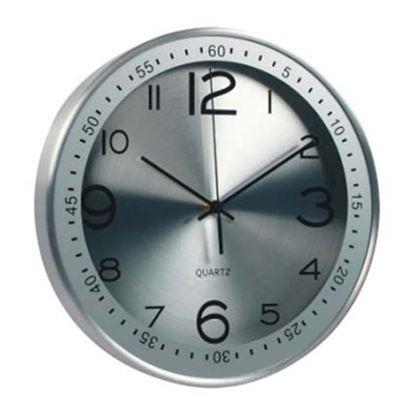 Obrázek Hodiny nástěnné Modern - stříbrná