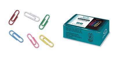 Obrázek Dopisní spony CONCORDE barevné - 32 mm / 100 ks