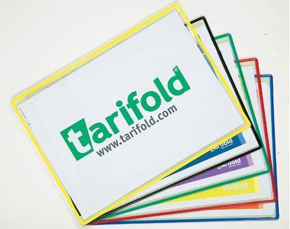 Obrázek Kapsy samolepicí Tarifold - barevný mix / 5 ks