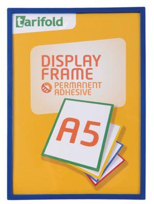 Obrázek Kapsy samolepicí Tarifold Display Frame - A5 / modrá