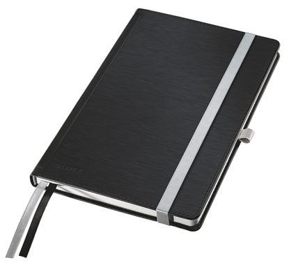 Obrázek Kniha záznamní Leitz Style - A5 / saténově černá