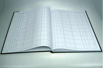 Obrázek Kniha došlé pošty - pevné desky - A4 / 100 listů