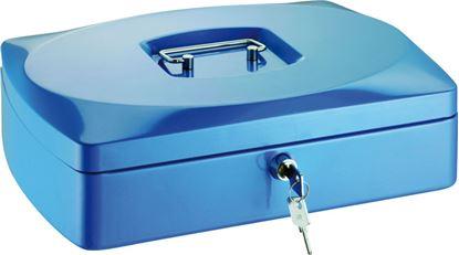 Obrázek Pokladny - modrá / 90 mm x 200 mm x 255 mm