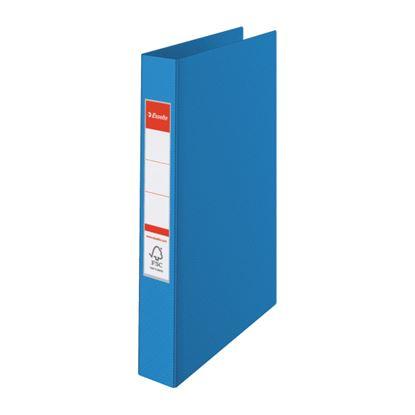 Obrázek Pořadač A4 kroužkový celoplastový - 4 - kroužek / modrá