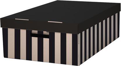 Obrázek Krabice úložná s víkem -  56 x 37 x 18 cm / 2 ks