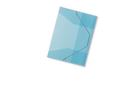 Obrázek Spisové desky A4 s gumou Concorde - modrá