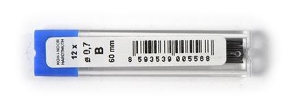 Obrázek Tuhy do mikrotužek KOH-i-NOOR - 0,7 mm / B