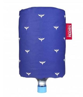 Obrázek Návlek na barel  -  modrá s potiskem