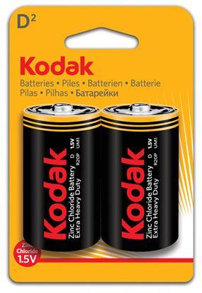 Obrázek Baterie Kodak  -  baterie mono článek velký / 2 ks