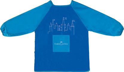 Obrázek Zástěra dětská Faber Castell -  modrá