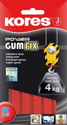 Obrázek Lepicí hmoty Kores - Power Gumfix / 35 g / 60 ks