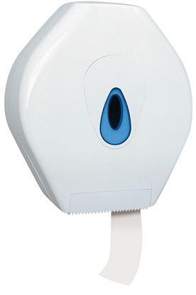 Obrázek Zásobník na toaletní papír Merida TOP - bílá / modrá / Maxi