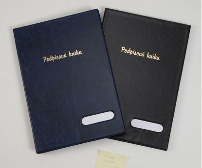 Obrázek Kniha podpisová Hanibal - černá