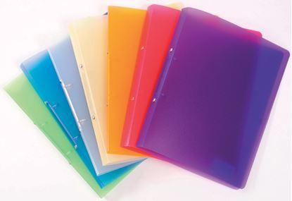 Obrázek Desky A4 kroužkové Opaline - 2 - kroužek / fialová