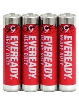 Obrázek Baterie Everedy  -  baterie mikrotužková  AAA / 4 ks
