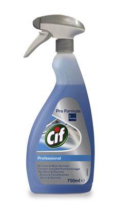 Obrázek Cif Professional na okna - 750 ml s rozprašovačem