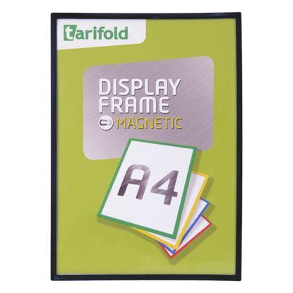 Obrázek Kapsy magnetické Tarifold Display Frame - A4 / černá