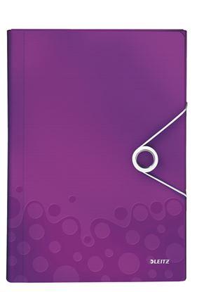 Obrázek Spisovka s přihrádkami WOW - fialová