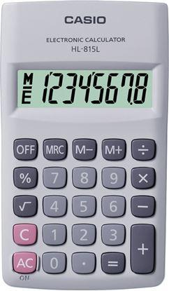 Obrázek Kalkulačka Casio HL815L - displej 8 míst / černá