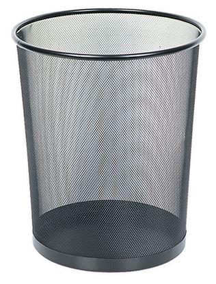 Obrázek Kancelářské doplňky drátěné - odpadkový koš 13l