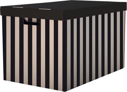 Obrázek Krabice úložná s víkem -  56 x 37 x 36 cm / 2 ks