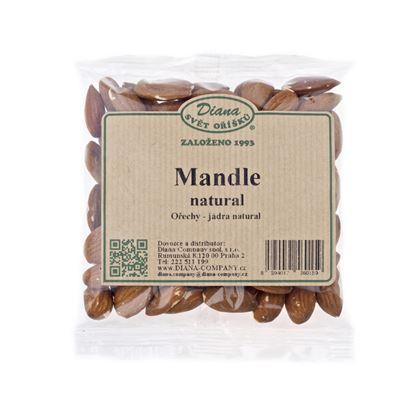 Obrázek Sušené ovoce a oříšky - mandle natural