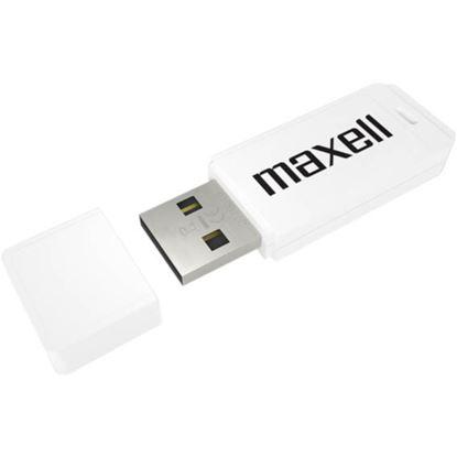 Obrázek Flash Disc Maxel - bílá / 16 GB