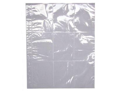 Obrázek Závěsný obal Bantex - A4 silný / na sběratelské kartičky 64x89 mm / 10 ks