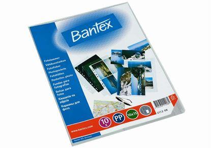 Obrázek Závěsný obal Bantex - A4 silný / kapsy na foto 10 x 15 / 10 ks