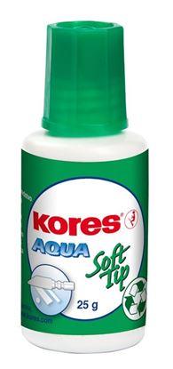 Obrázek Opravné laky Kores Aqua  -  25 ml – (Soft - tip) houbička