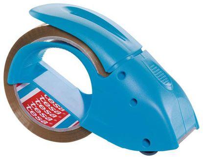 Obrázek Odvíječ balicí pásky Tesa - ruční odvíječ / modrá