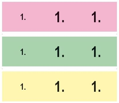 Obrázek Šatnové bloky MSK - 1 - 200 / 5 barev / 806