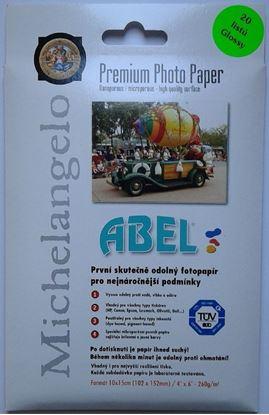 Obrázek Fotopapíry ABEL  - 10 x 15 cm  260 g / 20 listů / lesklý