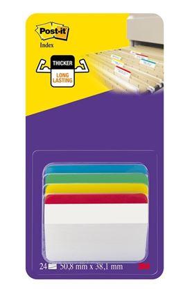 Obrázek Samolepicí záložky Post-it zahnuté - 4 x 6 záložek