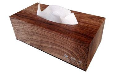 Obrázek Zásobník na papírové kapesníčky - na 150 ks / dekor dřeva