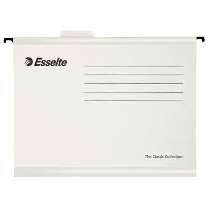 Obrázek Závěsné desky Esselte Classic Collection - bílá