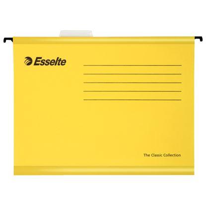 Obrázek Závěsné desky Esselte Classic Collection - žlutá