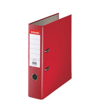 Obrázek Pořadač A4 pákový polypropylen Economy - hřbet 7,5 cm / červená / 11253