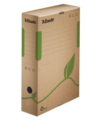 Obrázek Archivní boxy Esselte ECO - hřbet 8 cm / hnědá