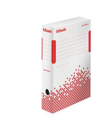 Obrázek Archivní box Esselte Speedbox - hřbet 8 cm / bílá