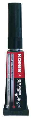 Obrázek Vteřinová lepidla Kores - Power Glue gel 3 g