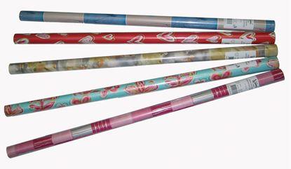 Obrázek Papíry dárkové  -  role 200 cm x 70 cm mix motivů
